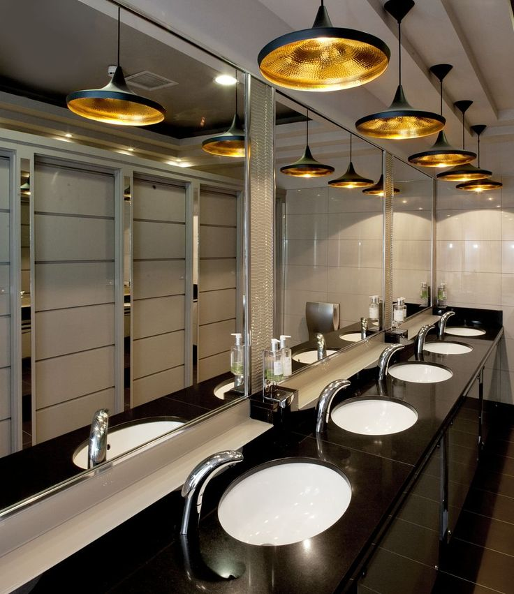 28 best images about industrial bathroom on pinterest toilets hotel bathrooms and industrial Best restaurant bathroom design