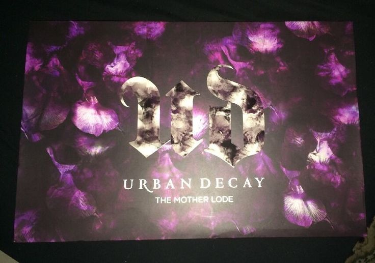 Urban Decay Mother Lode Eyeshadow Vault Sold Out LImited Edition Brand New OBO #UrbanDecay