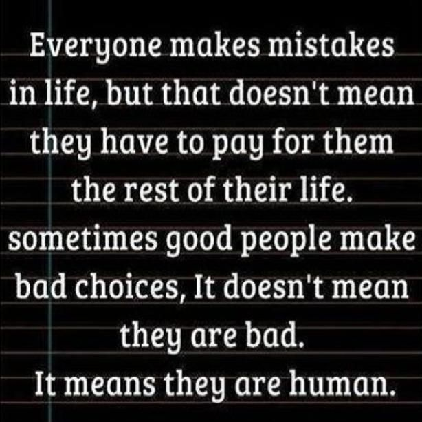 Messed Up Life Quotes: 25+ Best Ideas About Everyone Makes Mistakes On Pinterest