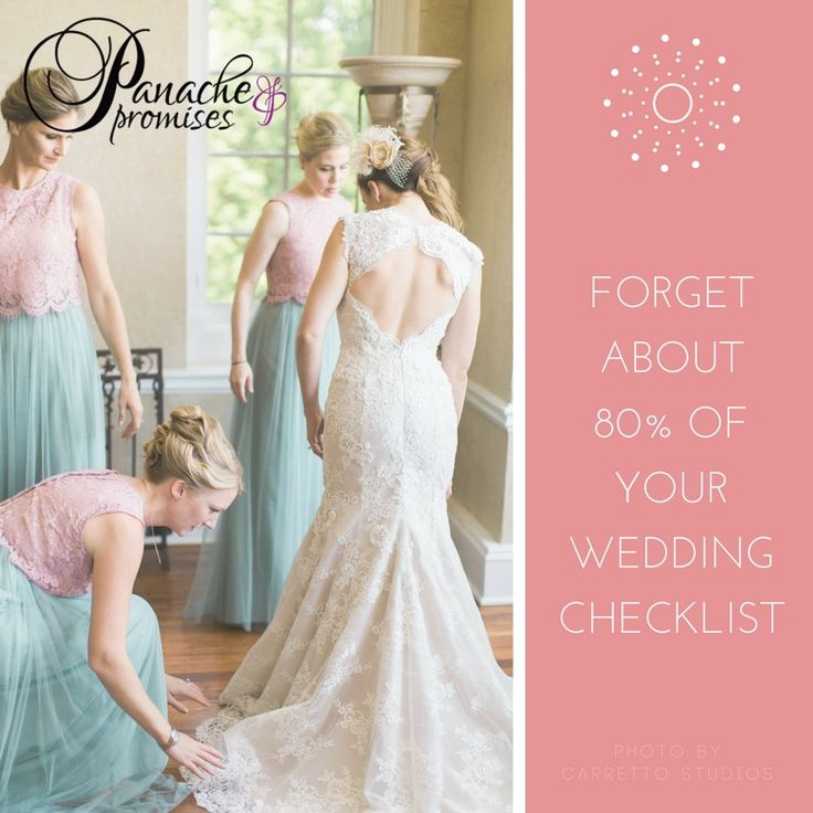 "I see a lot of ""50 Things To Do The Week of Your Wedding Lists"" and you don't need to do 80% of them… read why not on my blog here: http://www.panacheandpromises.com/blog/wedding-checklists  … Photo by Carretto Studios #weddingideas #weddings #love #weddingplanner #weddingcoordinator #teamshannon #stlouis #alivemagstl #alivewedding #isaidyes #ido #weddingdreams #bestdayever #bridebook #thefuturemrs #soontobemrs #thehappynow #gettingmarried #risingtidesociety"