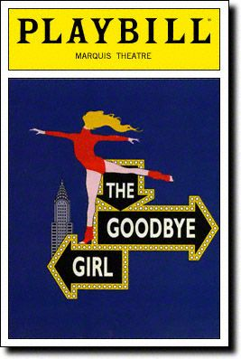 March 4, 1993: THE GOODBYE GIRL, starring Martin Short and Bernadette Peters, opens at the Marquis Theatre