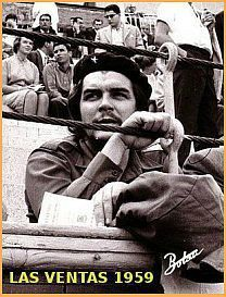 Ché Guevara en la Plaza de Toros de Las Ventas 1959.Es increible, hay tiempo para todo , incluso para la revolución.