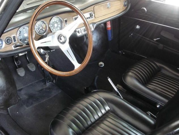 interior simca 1200 s coup coup s a os 60 70 pinterest cars. Black Bedroom Furniture Sets. Home Design Ideas
