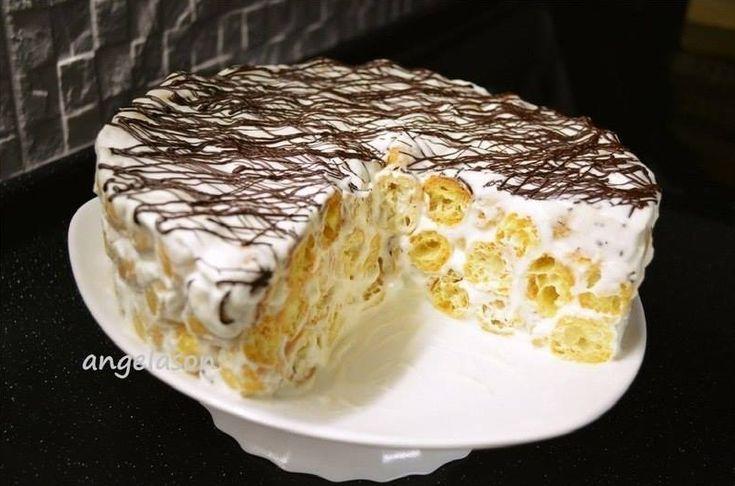 Очень простой в изготовлении тортик, который смогут приготовить абсолютно все