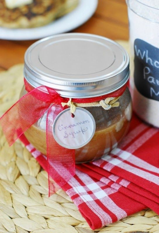 Cinnamon Syrup ~ a versatile little syrup you can easily whip up at home.  Great for pancakes, waffles, ice cream, cheesecake.  You name it!   www.thekitchenismyplayground.com
