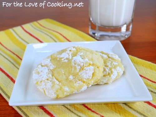 Like the Girlscout cookies.....lemon crinkles