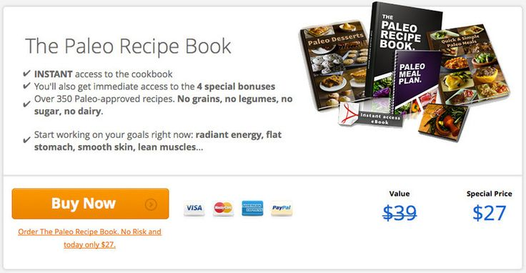 Paleo Recipe Book | Over 370 easy Paleo recipes