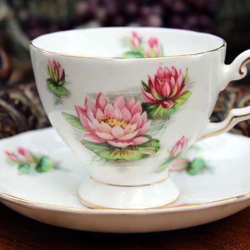Tuscan Bone China Teacup Tea Cup and Saucer 5397
