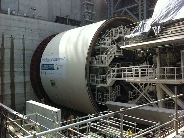 Tunnel Boring Machine in New Zealand
