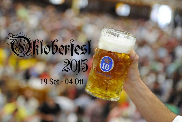 #Oktoberfest 2015. Anche quest'anno siamo pronti per la #festa della #birra più pazza di tutto il mondo. Prosit!