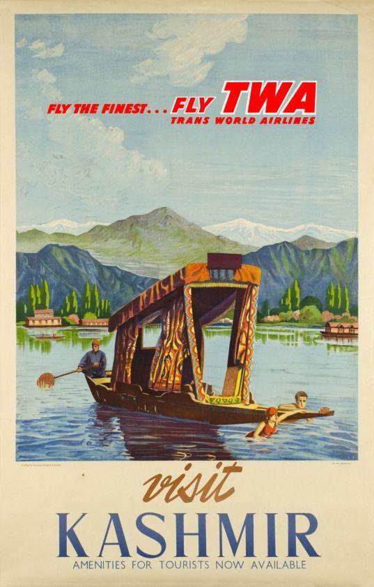 1950 TWA, Visit Kashmir