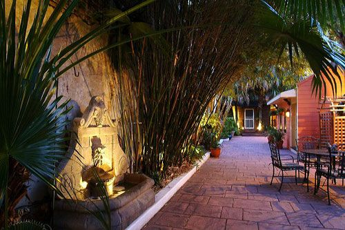 One Of Several Intimate French Quarter Courtyards Which