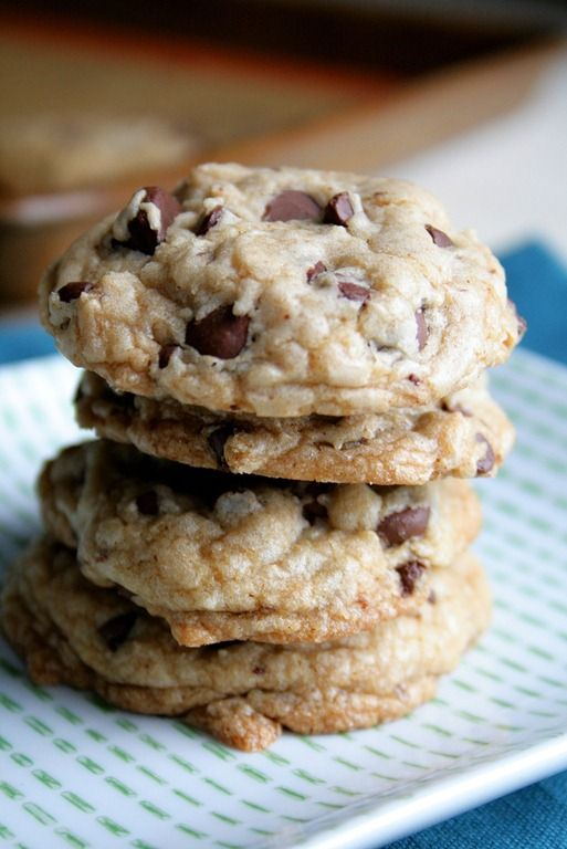 Perfect Chocolate Chip Cookies to Share, if you want. From @ ...