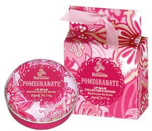 Urban Rituelle Pomegranate Collector's Edition Lip Balm | http://www.weddingfavoursaustralia.com.au/products/urban-rituelle-pomegranate-collectors-edition-lip-balm | #guestsgift #bridesmaidsgift #bombonniere