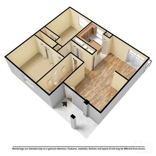 Aumond Villas Floor Plan