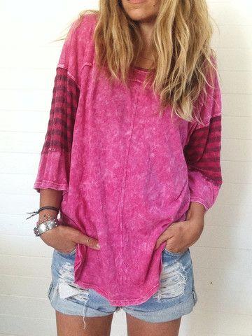 mineral wash pullover // ascotandhart.com