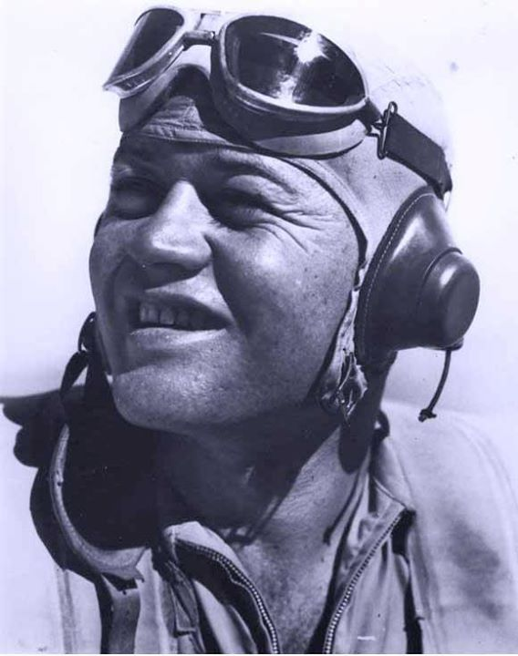 World War II History Jan 03, 1944 - Marine Aviator Major Gregory Boyington was shot down by the Japanese near Rabaul and taken as Prisoner of War. Upon his release after the war, he was awarded the Medal of Honor for his prior downing of 26 enemy aircraft and was promoted to Colonel in 1947. Boyington died on 15 Jan 1988 and is buried at Arlington National Cemetery