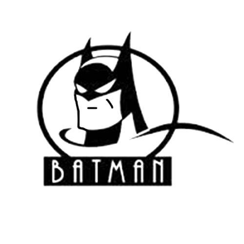 Batman Die Cut Vinyl Decal PV707