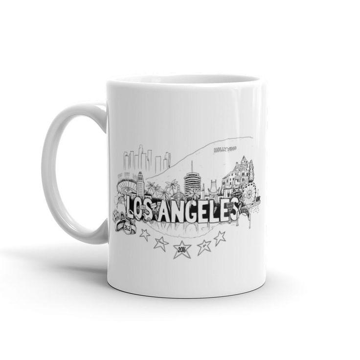 Los Angeles Marathon Mug