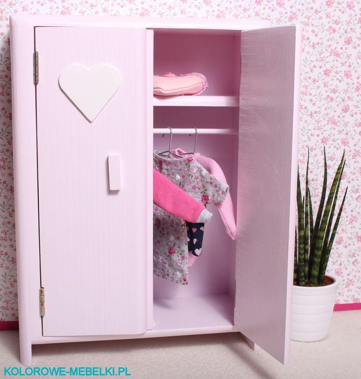 Szafa dla lalki Barbie :) https://kolorowe-mebelki.pl/