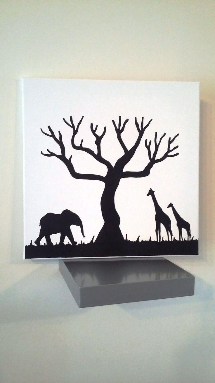 """arbre à empreintes """" Evasion Africaine """" pour environ 80 - 100 personnes : Décorations murales par stefebricole"""