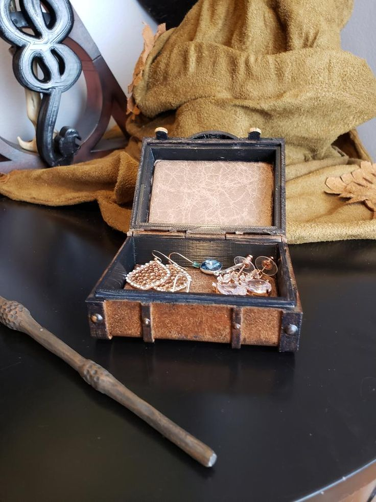 Harry Potter Inspired Trunk/Suitcase Ring/Jewelry Box ...