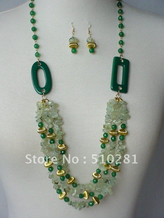 Aliexpress.com : Buy Free shipping!!!18inch fashion luxury semi precious stone jewelry set chip quartz necklace and earring from Reliable jewelry set suppliers on Changzhou Tiancai Jewelry Co., Ltd. $56.84