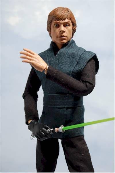 Luke Skywalker action figure -- the kind that Jack has on his bookshelf...