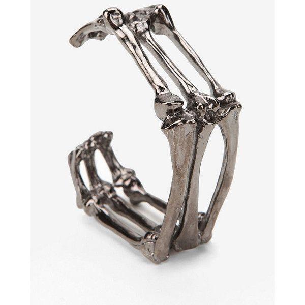 Chrishabana Bag O Bones Cuff Bracelet found on Polyvore
