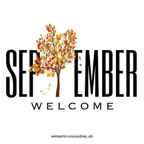 Welcome September Nice Design