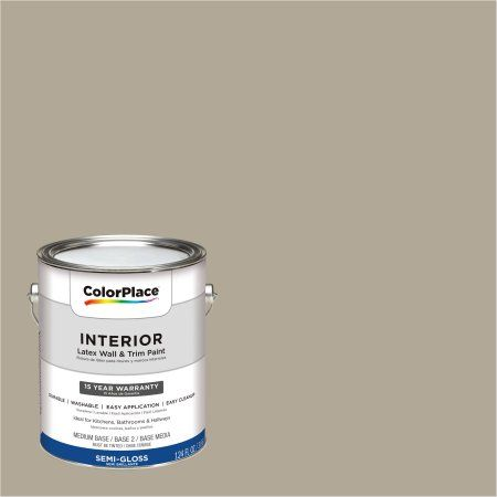 ColorPlace, Interior Paint, Potter's Clay Beige, #40YY 38/107, Semi-Gloss, 1 Gallon, Brown