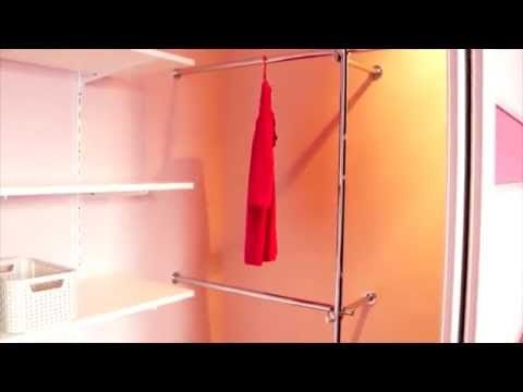 Building wardrobes diy - shelves for clothes - YouTube #shelves #clothes #diy #wardrobe