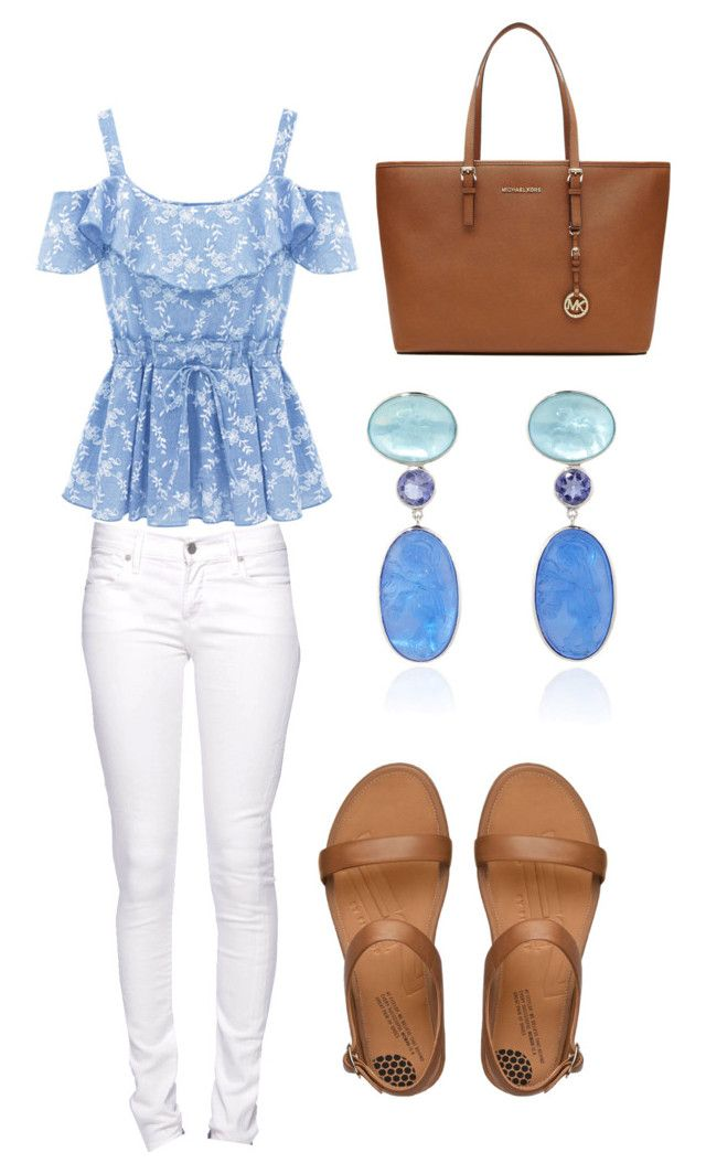 Untitled #13 by marce-castaneda on Polyvore featuring polyvore, Mode, style, Citizen of Humanity, FitFlop, MICHAEL Michael Kors and Bahina