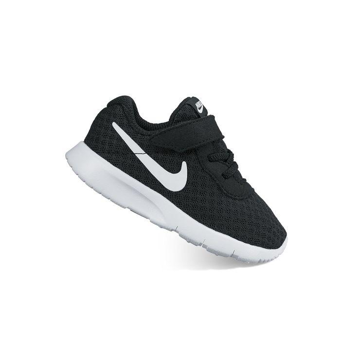 Nike Tanjun Toddler Boys' Shoes, Size: 10 T, Grey (Charcoal)