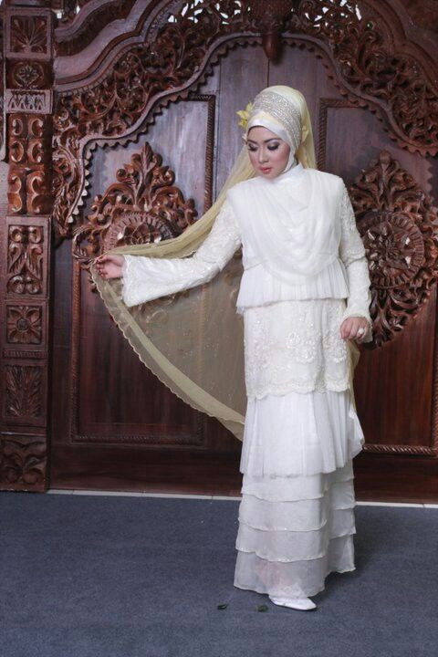 Syar'i hijab indonesia bride
