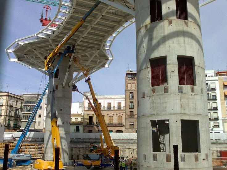 Best Image Result For Metropol Parasol Construction 400 x 300