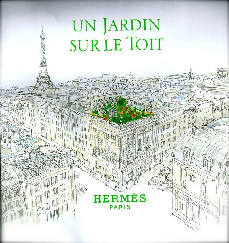 1000 images about herm s epic paris on pinterest for Parfum un jardin sur le toit