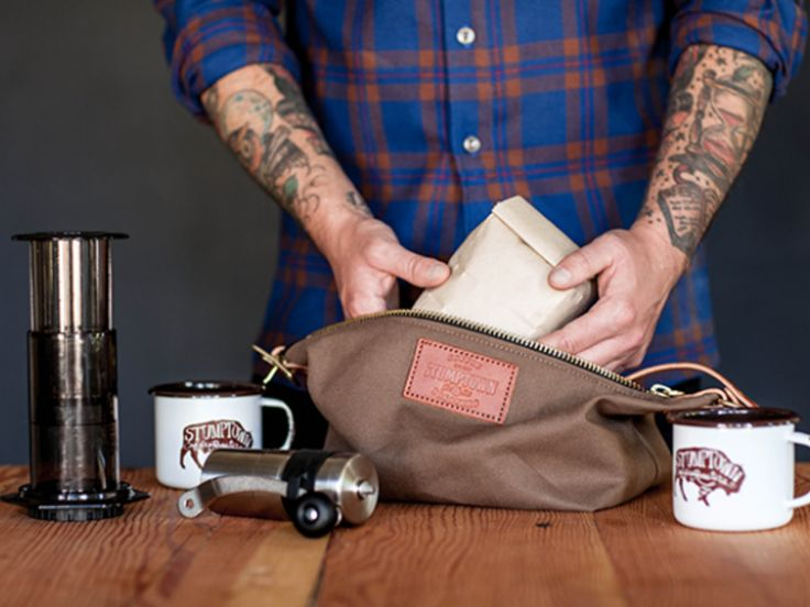 For the Coffee Snob Who Has Everything: Stumptown Unveils $185 Travel Brew Kit - Eater Portland
