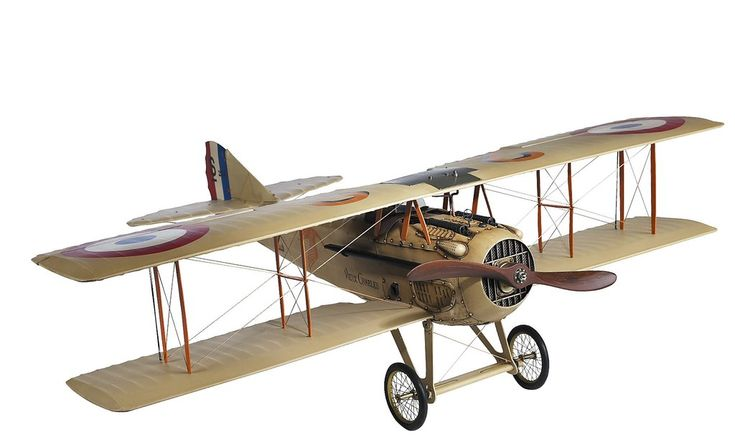 Spad XIII French Airplane Scale Model