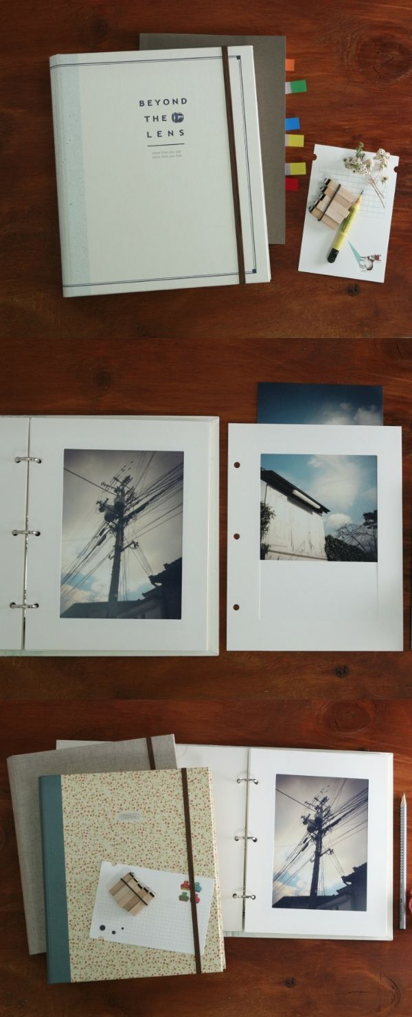 Joyce Im, Customer Advocate Dress your photos up or down with this simple yet elegant photo album! You can personalize the pages with special memos or doodles, or just keep it as it is - modern & minimal~