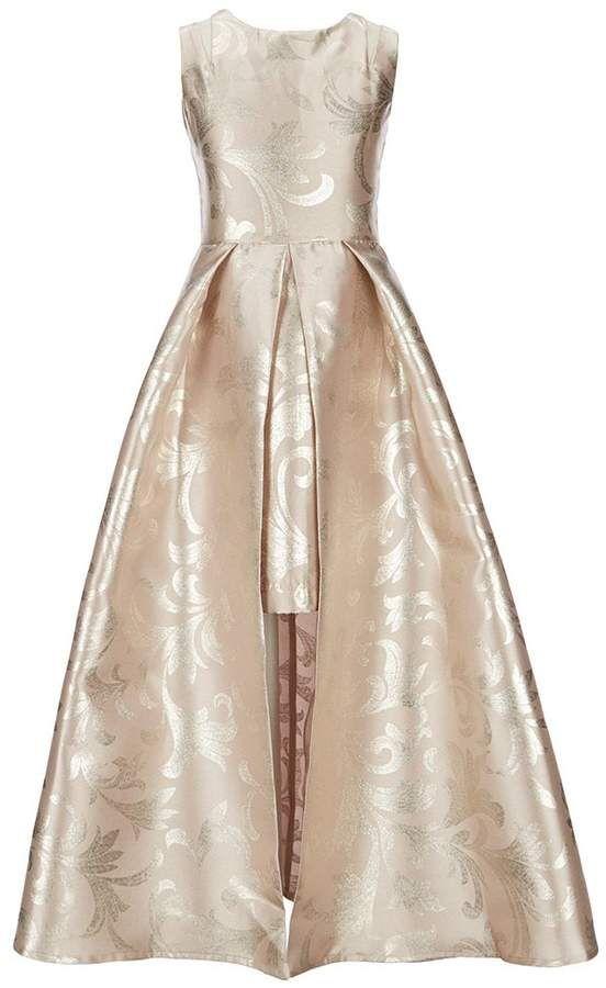 6d6e274b40ec Rare Editions Big Girls 7-16 Scroll Print Walk-Through Dress  straps ...