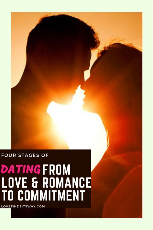 What are the different stages of dating