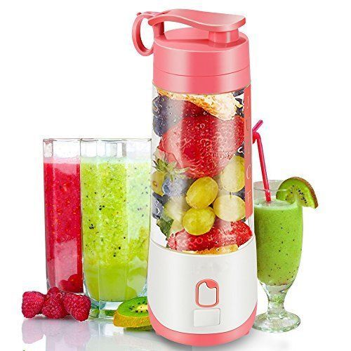 Personal Portable Blender Bottle Hand Juicer Cup Fruit Smoothie Baby Food 400ml #woocon