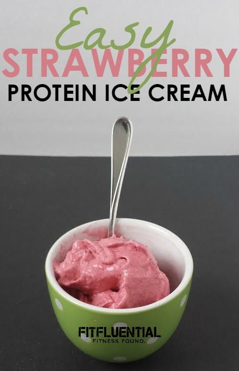 How to make protein ice cream - Fitfluential