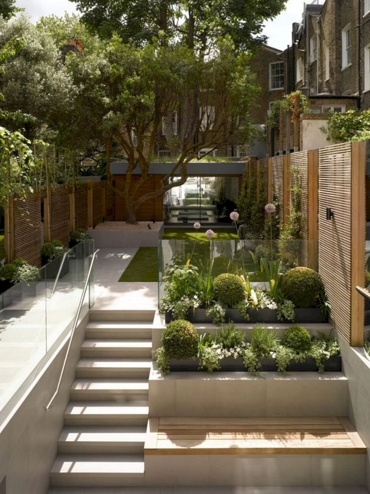 Top 30+ Stunning Contemporary Landscape Designs Ideas for Your Home Inspirations