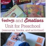 Feelings and Emotions Unit for Preschool {Resources and Activities!}