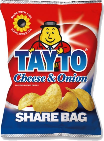 Food Ireland Tayto Share Bag 50g (1.8oz) 10 Pack