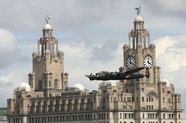 Lancaster Bomber by *Richard Cooper *, via Flickr -- Wonderful photo!