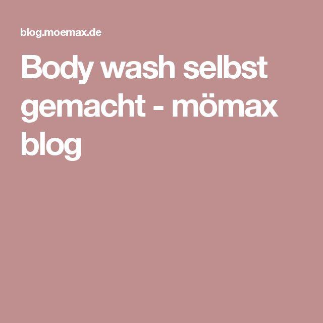 Body wash selbst gemacht - mömax blog