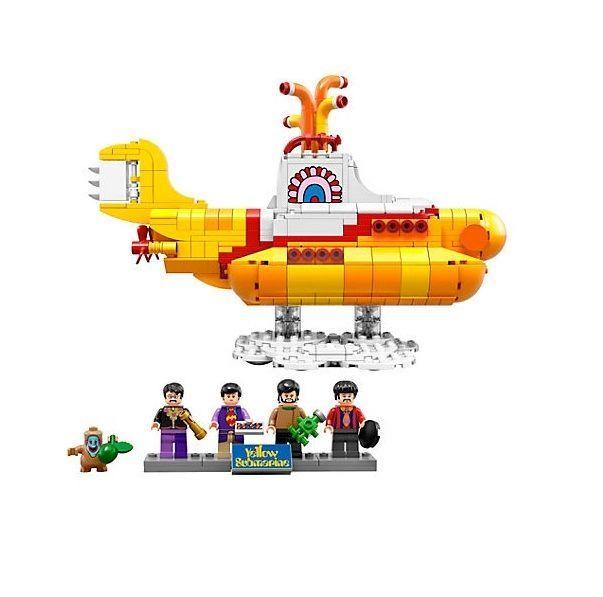 Lego Yellow Submarine Toys Replicate Ideas 21306 The Beatles New #LEGO